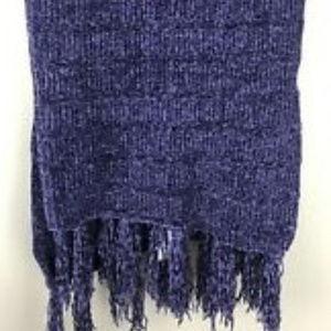 Lularoe Mimi Scarf Shawl Purple Chenille